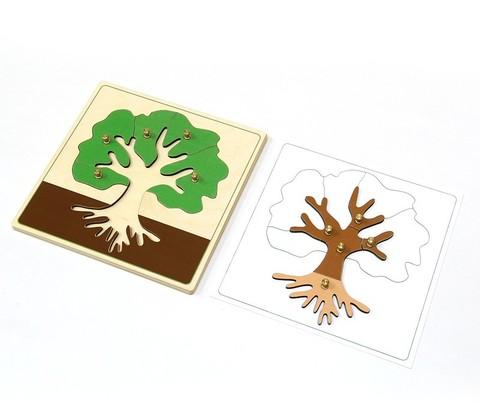 Части дерева пазл
