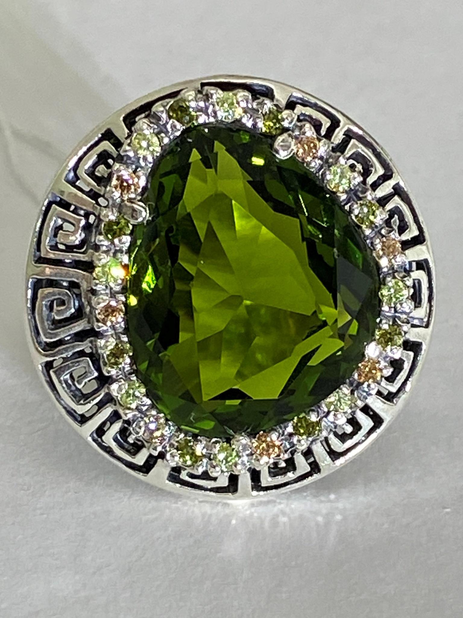 Олимп (кольцо из серебра)