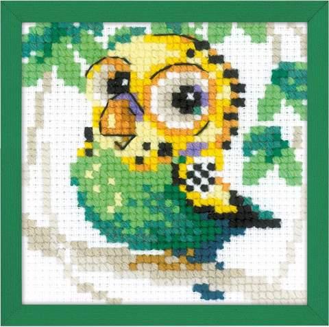 Набор для вышивания крестом «Волнистый попугайчик» (1785)