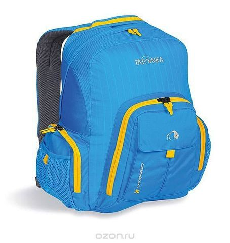 Картинка рюкзак городской Tatonka Kangaroo Bright Blue - 1