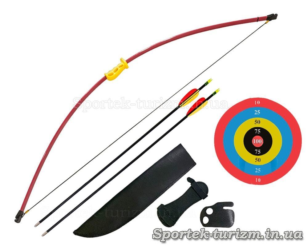 Детский лук для развлекательной стрельбы Man Kung MK-RB011