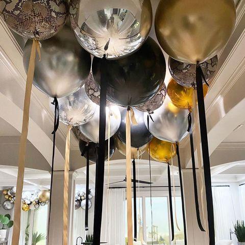 Большие шары под потолок Москва