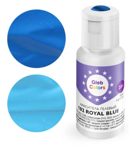 Краситель гелевый Cake Colors 102 Королевский синий, 20г