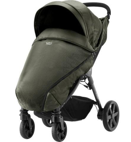 Прогулочная коляска Britax B-Agile 4 Plus Olive Denim