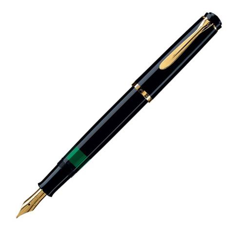 Pelikan Elegance Classic - Black GT, перьевая ручка, M