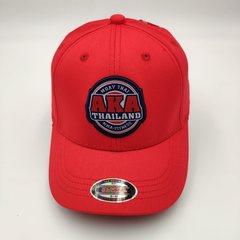 Кепка с логотипом АКА ММА  (Бейсболка AKA THAILAND MMA fight night) красная