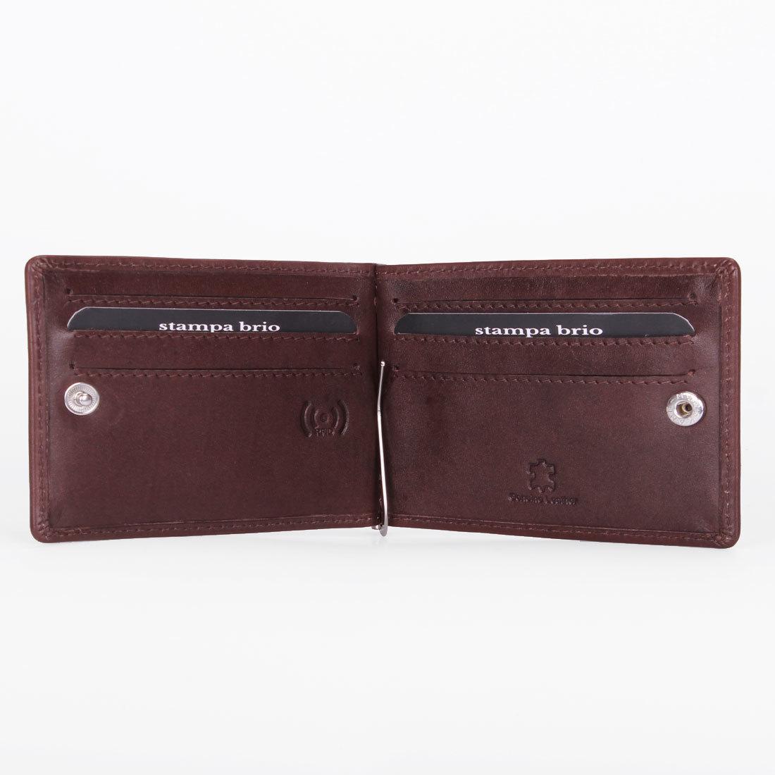 730 R - Зажим для купюр с RFID защитой без монетника