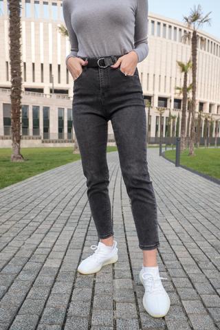 Короткие серые джинсы недорого