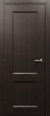 Дверь 3023 (чёрный дуб, глухая CPL), фабрика Краснодеревщик