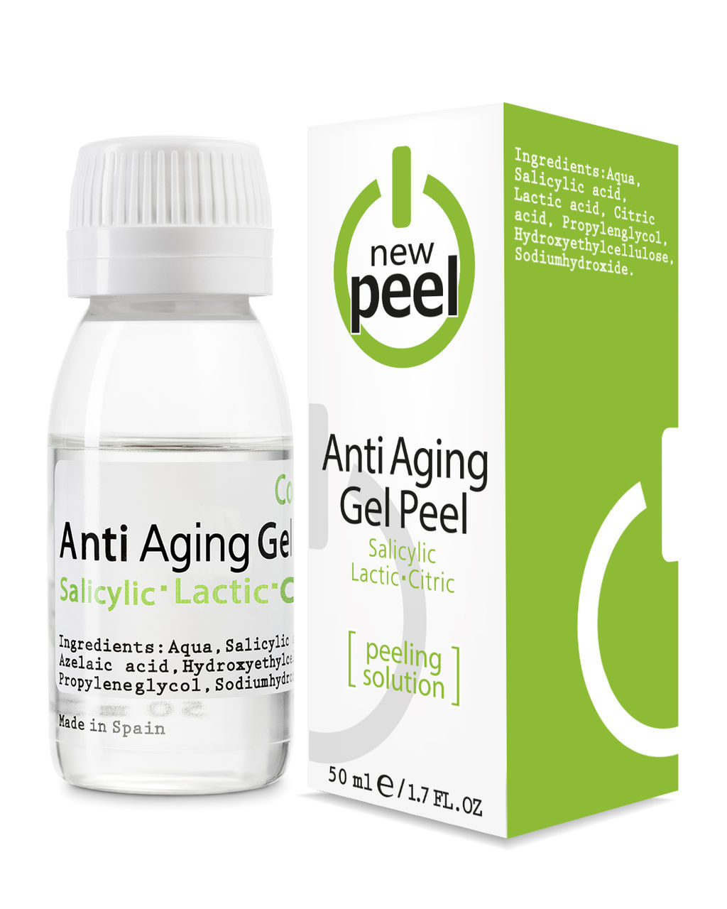 Модифицированный пилинг джесснера / NEW PEEL Anti-Aging Peel, 50 ml