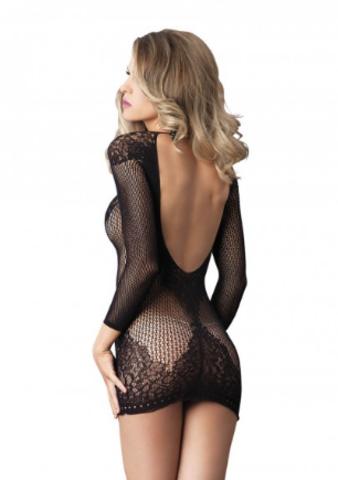 Мини-платье с рукавами - Leg Avenue