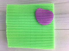 Текстурный коврик «Вязание»