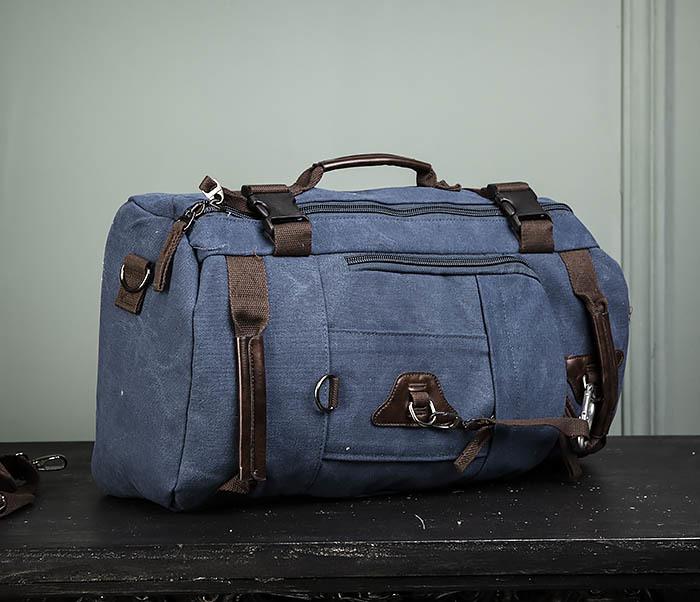 BAG479-3 Большая мужская сумка рюкзак трансформер фото 03