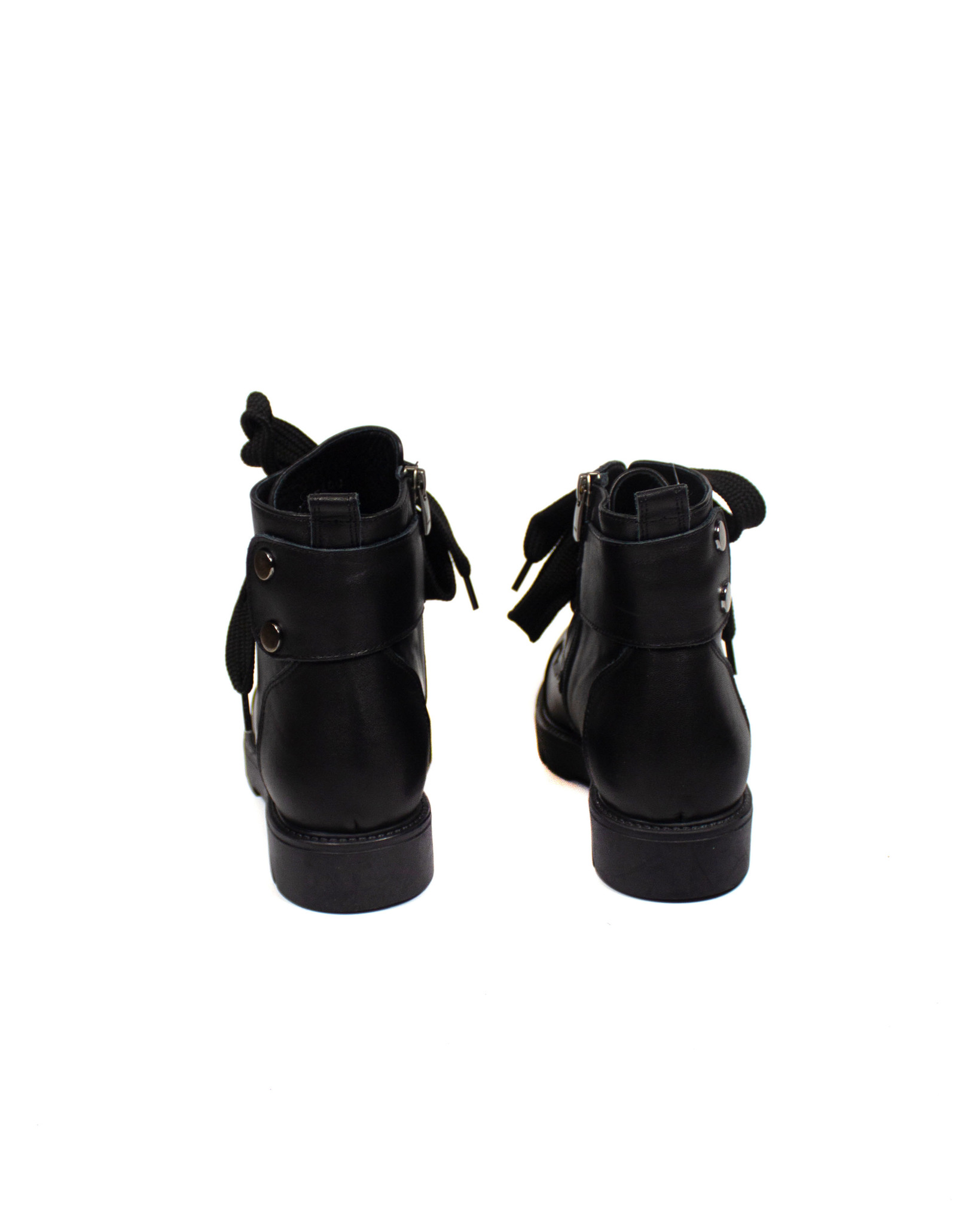 черные ботинки Donna Ricco