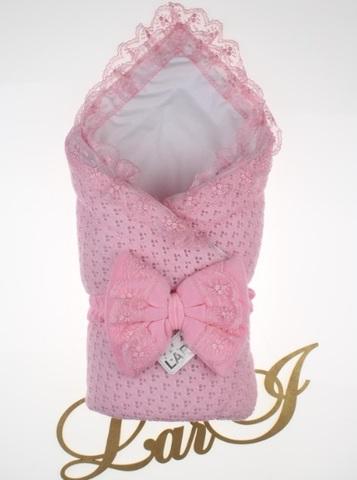 Демисезонный конверт одеяло Сказка (розовый)