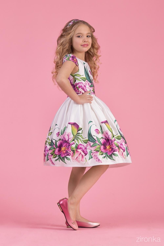 Платье для девочки 38-8002-1