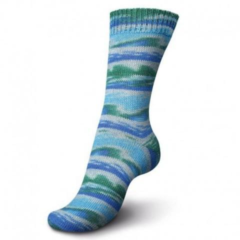 Пряжа для носков Regia Design Line Mountains and Fjords Color 7031 купить