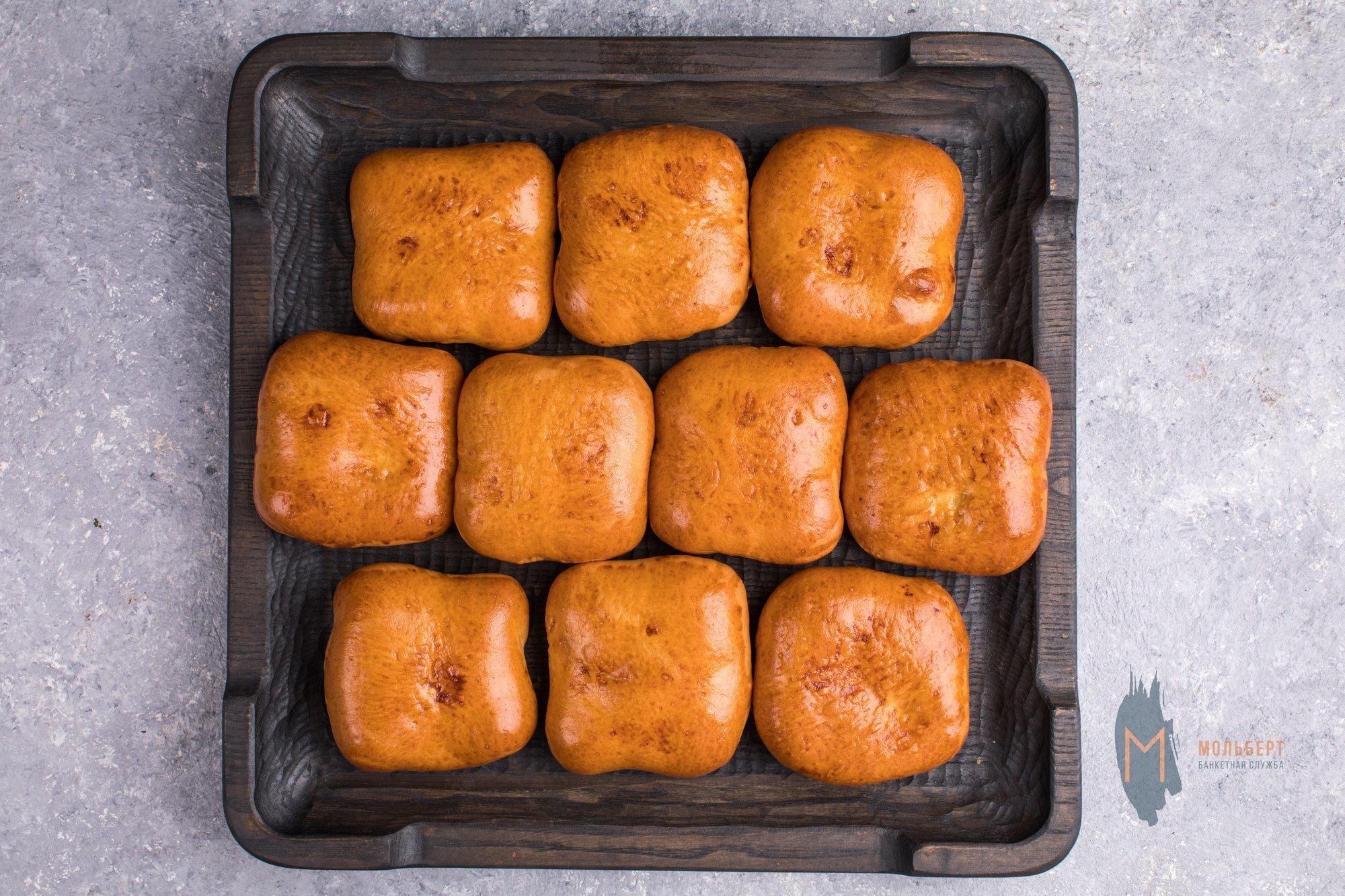 Мини пирожки с картошкой