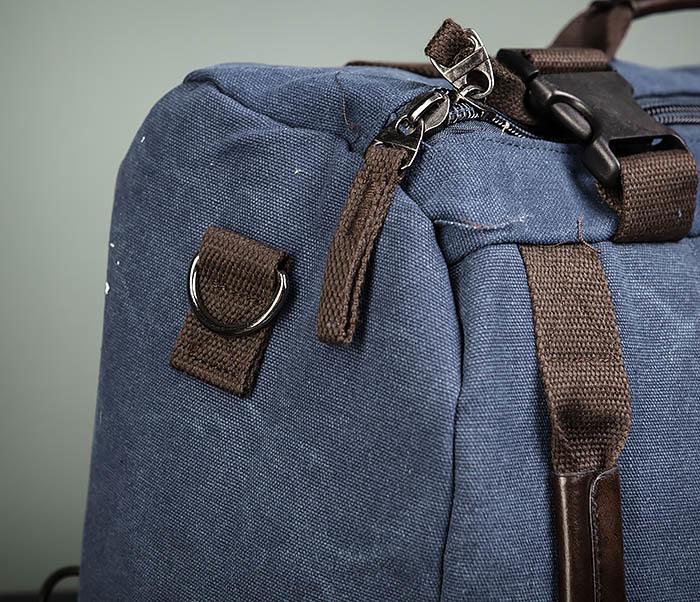 BAG479-3 Большая мужская сумка рюкзак трансформер фото 04