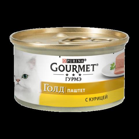 Gourmet Gold Консервы для кошек с Курицей , Паштет