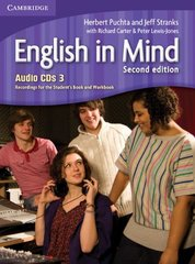 English in Mind 2nd Edition 3 Audio CDs (3)