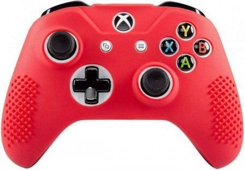 Чехол для геймпада (Xbox Series X Controller Silicon Case, красный)