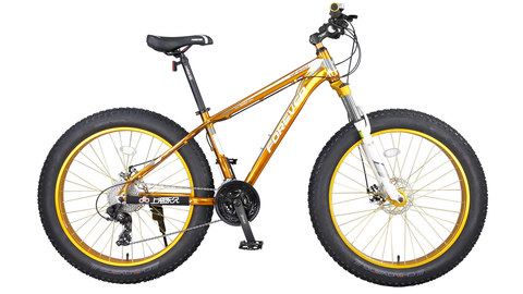 Fat bike Forever GF650 золотой