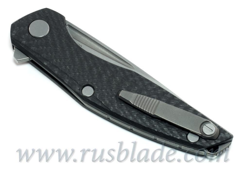 Shirogorov 111 S90V CF 3D groove MRBS - фотография