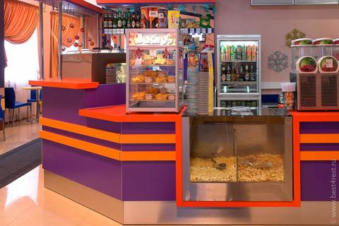 Барная стойка для кинотеатра в развлекательном центре