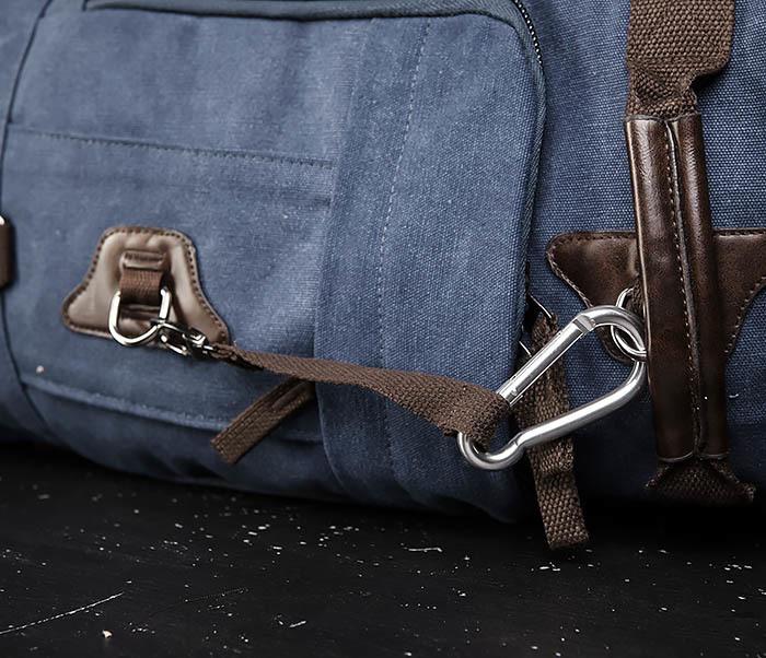 BAG479-3 Большая мужская сумка рюкзак трансформер фото 05