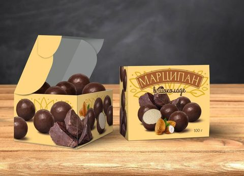 Марципан в Шоколаде, 100 г