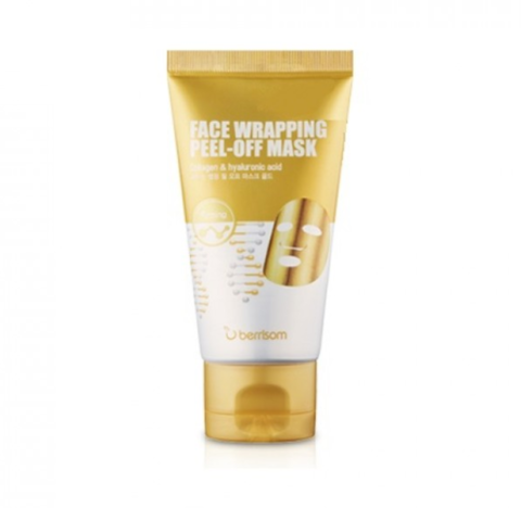 BERRISOM Маска для лица (Маска-плёнка) Berrisom Face Wrapping peel off pack – Gold 50мл