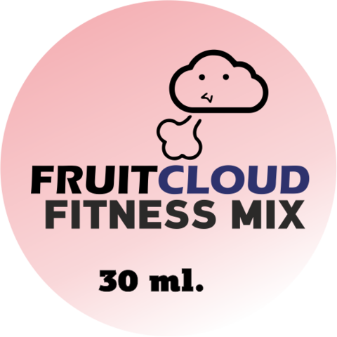 Премиум жидкость для электронных сигарет Fitness Mix, 6 мг
