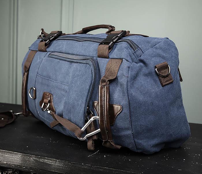 BAG479-3 Большая мужская сумка рюкзак трансформер фото 06