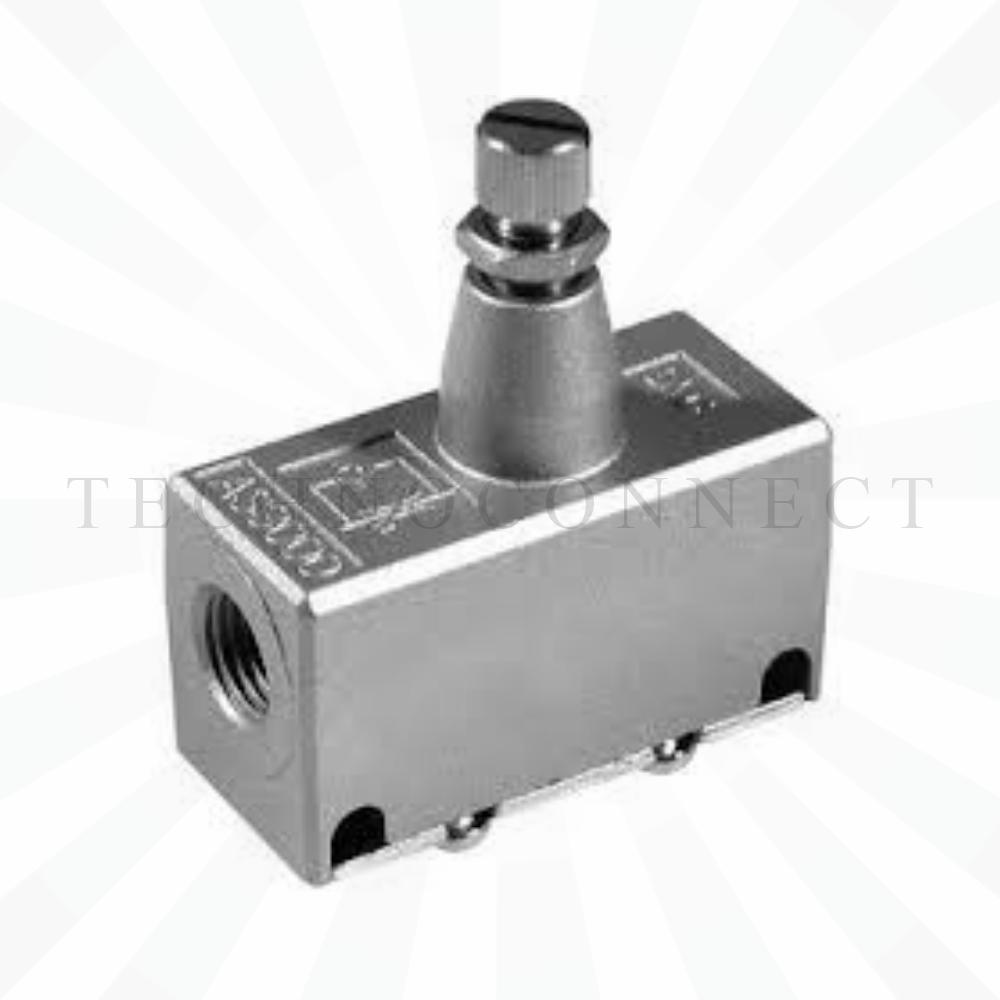 EAS3000-F02  Дроссель с обратным клапаном, G1/4