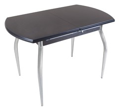 Обеденный раздвижной стол полуовал