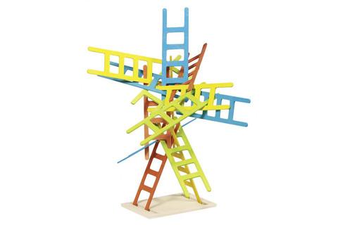 56877 Развивающая игра Найди баланс с лестницами Goki