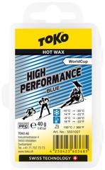 Парафин Toko High Performance 40 g blue, -9°/-30°