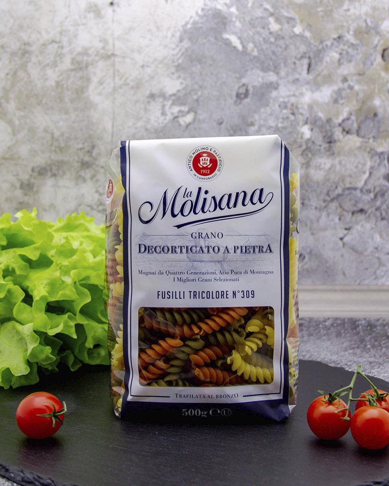 Макаронные изделия La Molisana с Добавлением Томатов и Шпината  500 гр.