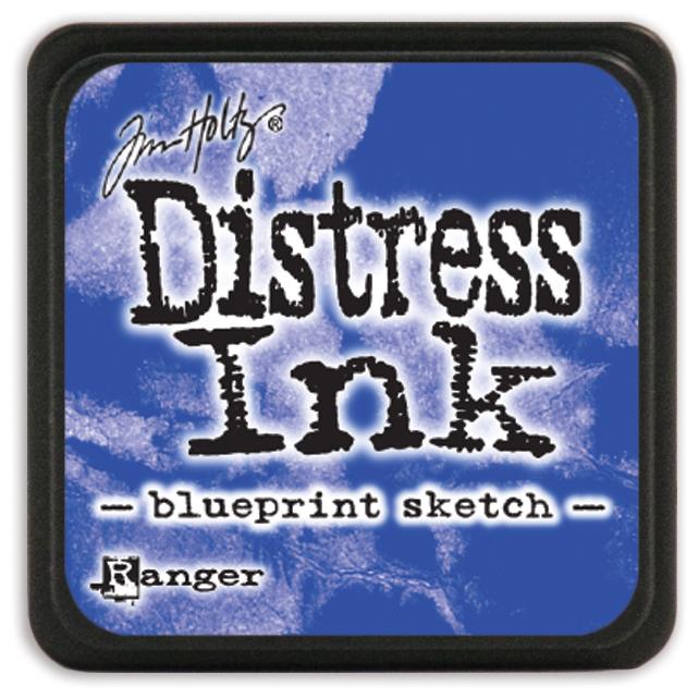Подушечка Distress Ink Ranger - blueprint sketch