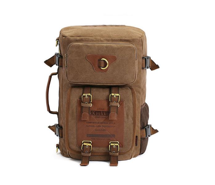 BAG367-2 Вместительный мужской рюкзак -трансформер из качественного текстиля