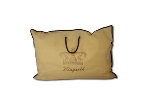 Подушка шелковая  Elisabette Элит 50x70 1.2кг - белая