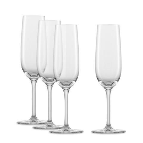 Набор фужеров для шампанского 210 мл, 4 шт, For you