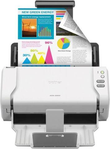 Сканер Brother ADS-2200 (ADS2200TC1) A4 белый