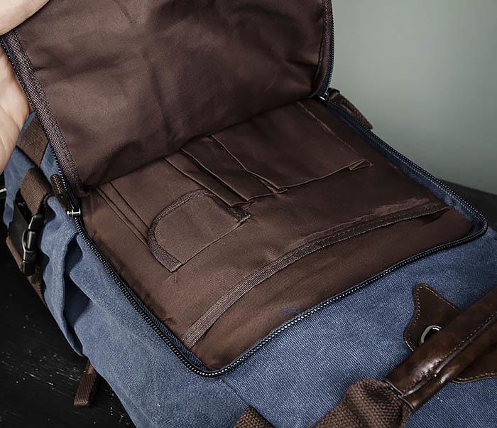BAG479-3 Большая мужская сумка рюкзак трансформер фото 08