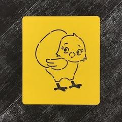 Цыпленок №2 с яйцом