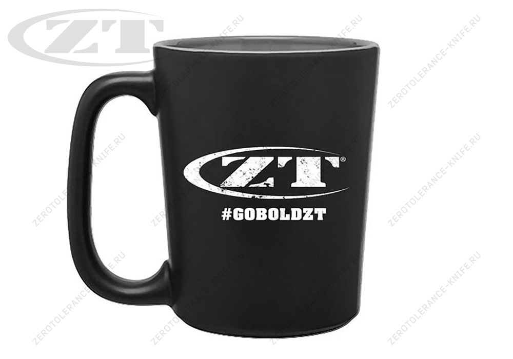 Кружка Zero Tolerance #GOBOLDZT MUG16 - фотография