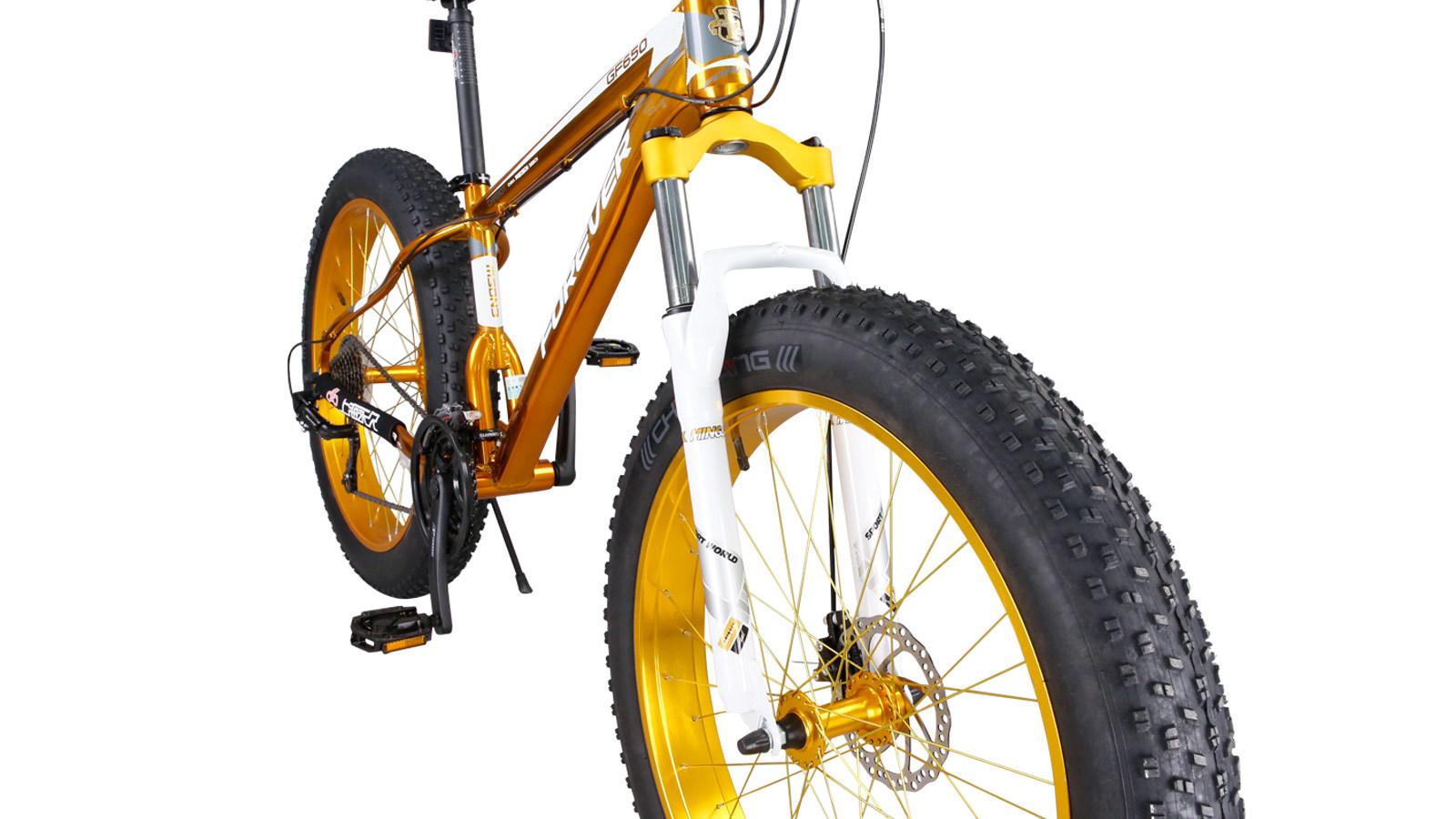 вилка переднего колеса фэтбайка