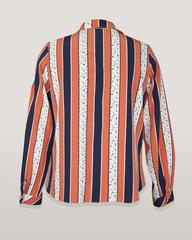 Блузка HAT рубашка карман полоска стрелки