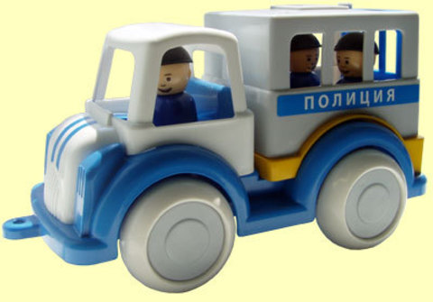 Полицейская машина игрушка